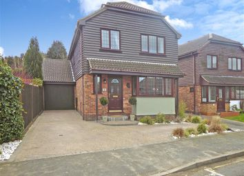 Thumbnail 4 bed detached house for sale in Laurie Gray Avenue, Bluebell Hill Village, Chatham, Kent