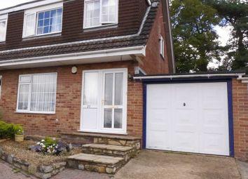 Thumbnail 3 bed semi-detached house for sale in Kestrel Close, Ferndown