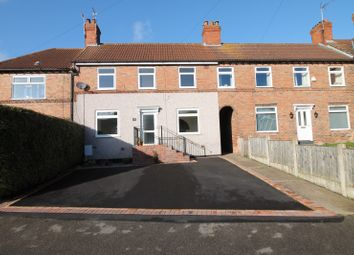 Thumbnail 3 bed terraced house to rent in Robin Hood Road, Blidworth, Mansfield