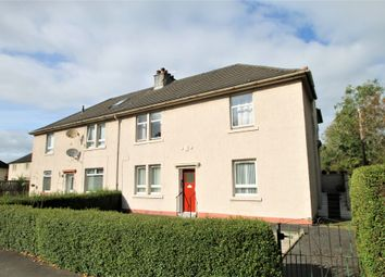 Thumbnail 2 bed flat for sale in Kelburne Drive, Paisley