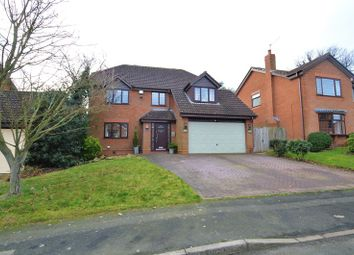 Thumbnail 4 bed detached house for sale in Shirehampton Close, Webheath, Redditch