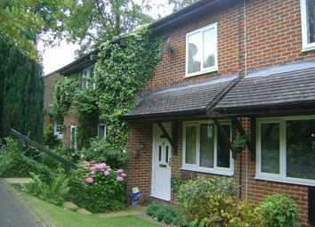 Thumbnail 2 bed terraced house to rent in Hillside Close, Headley Down