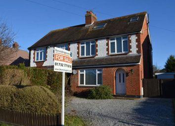 Thumbnail 4 bedroom semi-detached house for sale in Tonbridge Road, Hildenborough, Tonbridge
