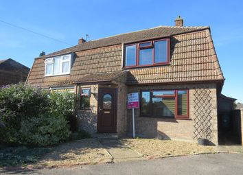 Thumbnail 3 bed semi-detached house to rent in Bunbury Avenue, Mildenhall, Bury St. Edmunds