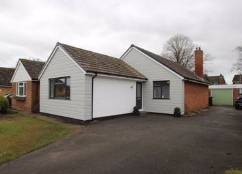 Thumbnail 3 bed detached bungalow for sale in Three Elms Road, Three Elms, Hereford