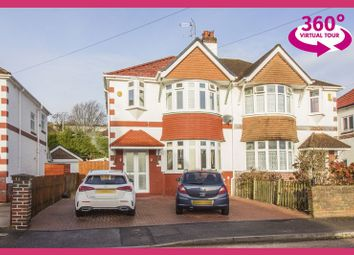 Thumbnail 3 bed semi-detached house for sale in Dale Road, Newport