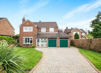 Thumbnail 4 bed detached house for sale in Marlborough Close, Tytherington, Macclesfield