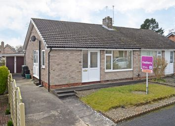 Thumbnail 2 bed semi-detached bungalow to rent in Runswick Avenue, Acomb, York