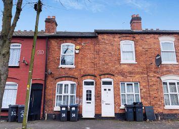 Thumbnail 2 bed terraced house for sale in Perrott Street, Winson Green, Birmingham