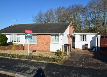 Thumbnail 3 bed semi-detached bungalow for sale in Marina Way, Tiverton