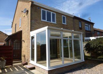 Thumbnail 1 bed semi-detached house to rent in Staplehurst Close, Carlton Colville, Lowestoft