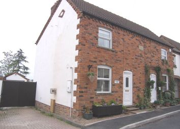 Thumbnail 2 bed end terrace house to rent in High Street, Luddington, Scunthorpe, North Lincolnshire