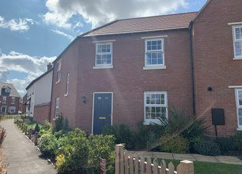 Thumbnail 3 bed semi-detached house for sale in Furlong Close, Barkby Road, Syston, Leicester