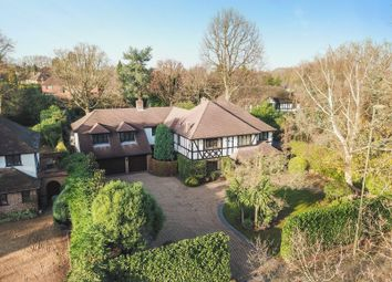 Thumbnail 6 bed detached house for sale in Ashley Road, Walton-On-Thames
