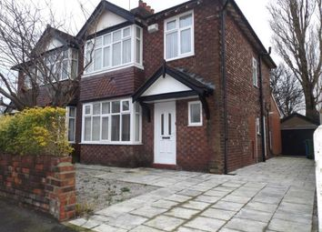 Thumbnail 3 bed semi-detached house for sale in Woodlands Drive, Offerton, Stockport, Cheshire