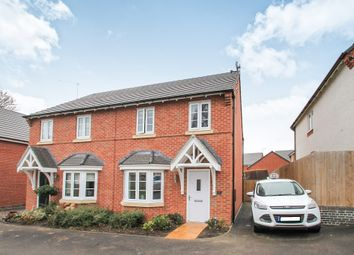 Thumbnail 3 bed semi-detached house for sale in Saxon Close, Ashbourne