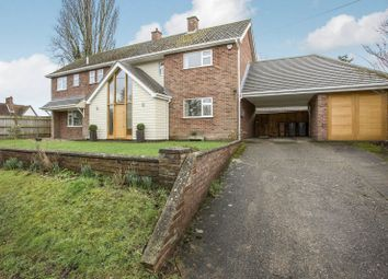 Thumbnail 4 bed detached house to rent in Bealings Road, Martlesham, Woodbridge