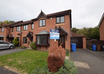 Thumbnail 3 bed semi-detached house to rent in Cranhill Close, Littleover, Derby