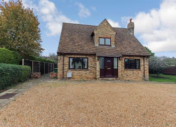 Thumbnail 5 bed detached house to rent in Church Road, Great Stukeley, Huntingdon