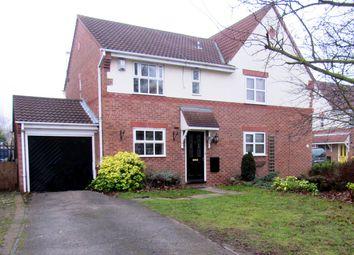Thumbnail 3 bedroom semi-detached house for sale in Ashton Drive, Kirk Sandall