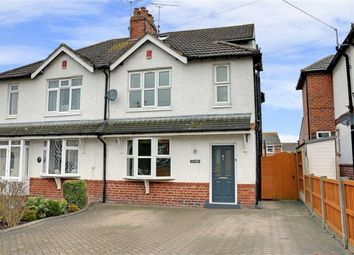 Thumbnail 4 bed semi-detached house for sale in Crewe Road, Shavington, Crewe
