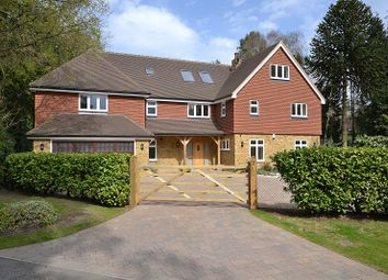 Thumbnail 6 bed detached house for sale in Ince Road, Burwood Park, Hersham, Walton-On-Thames