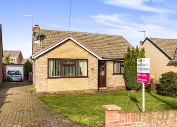 Thumbnail 2 bedroom detached bungalow for sale in Haddon Rise, Mexborough