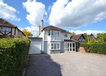 Thumbnail 3 bed detached house for sale in Oatlands Drive, Weybridge