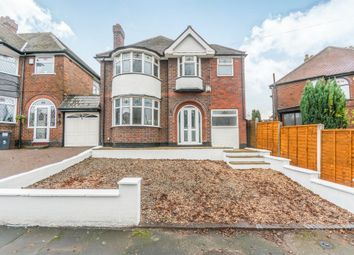 Thumbnail 4 bed detached house for sale in Kilmorie Road, Acocks Green, Birmingham