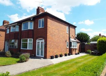 Thumbnail 3 bed semi-detached house for sale in Wistaston Avenue, Crewe, Cheshire