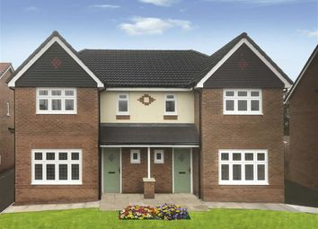 Thumbnail 4 bed semi-detached house for sale in Thatch Court, Garstang, Preston