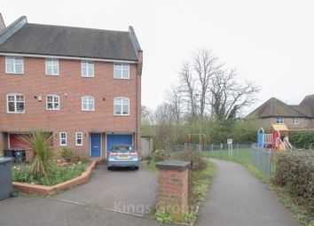 Thumbnail 3 bed town house to rent in Lilbourne Drive, Hertford
