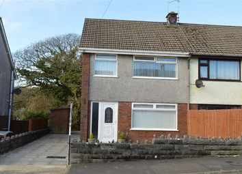 Thumbnail 3 bed semi-detached house for sale in Pant Y Dwr, Three Crosses, Swansea
