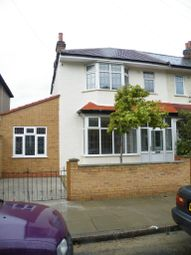 Thumbnail 4 bed end terrace house to rent in Hill Road, Mitcham