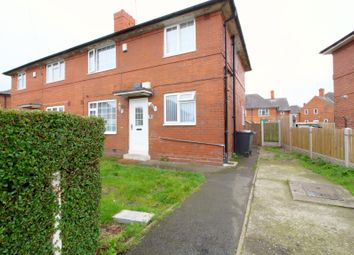 Thumbnail 4 bedroom semi-detached house for sale in Broom Crescent, Leeds