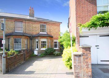 Thumbnail 2 bedroom semi-detached house to rent in Monument Green, Weybridge