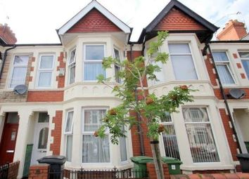 Thumbnail 3 bed terraced house to rent in Australia Road, Cardiff
