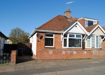Thumbnail 2 bed semi-detached bungalow for sale in Yelvertoft Road, Kingsthorpe, Northampton