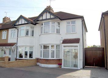 Thumbnail 3 bedroom end terrace house for sale in Bush Road, Buckhurst Hill