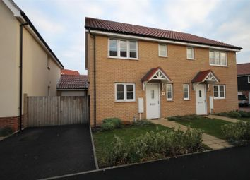 Thumbnail 3 bed semi-detached house to rent in Willowcroft Way, Cringleford, Norwich