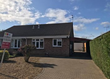 Thumbnail 2 bedroom semi-detached bungalow for sale in First Avenue, Grantham