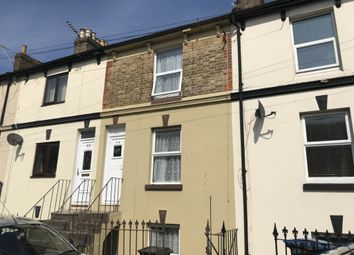 Thumbnail 3 bed terraced house to rent in Oswald Road, Dover