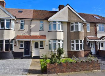 Thumbnail 3 bed terraced house for sale in Wellington Avenue, Sidcup, Kent