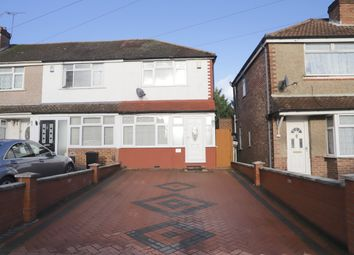 Thumbnail 3 bed end terrace house to rent in Laburnam Road, Hayes, Middlesex