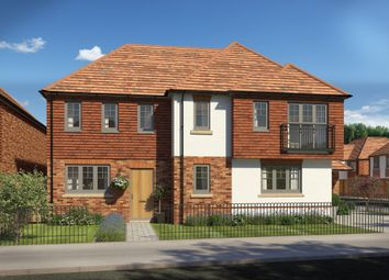 Thumbnail 1 bed flat for sale in Brooklands Lodge, South Lane, New Malden