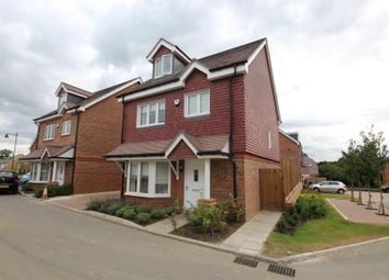 Thumbnail 4 bedroom detached house to rent in Brookwood Farm Drive, Knaphill, Woking