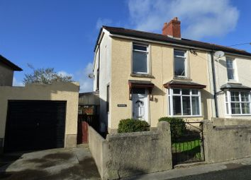 Thumbnail 3 bed semi-detached house for sale in Station Road, St. Clears, Carmarthen