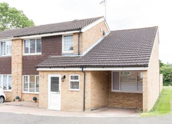 Thumbnail 4 bed semi-detached house for sale in Tudor Way, Wellingborough