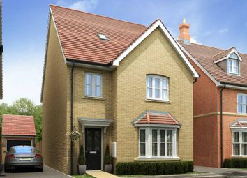 "Thumbnail 4 bed detached house for sale in ""Grasscroft - Plot 447"" at St. Lucia Crescent, Newton Leys, Bletchley, Milton Keynes"