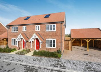 3 bed semi-detached house for sale in The Elmwood At Hamlet Grove, Thame Road, Longwick, Princes Risborough HP27